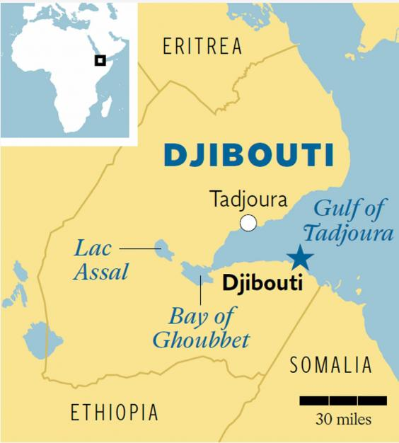Djibouti and the Afar Triple Junction A sciencefiction landscape