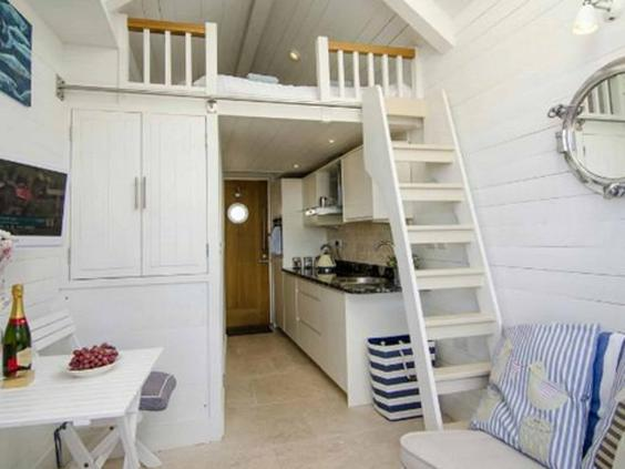 Stay in a beach hut: From one of George Clarke\'s Amazing Spaces to ...
