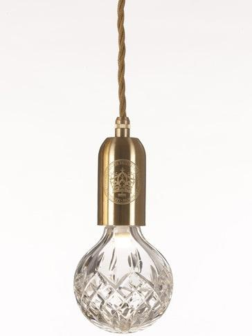 at the top end of the decorative lightbulb market is lee broomu0027s crystal bulb each one is hand cut with a crystal pattern that reminds us of a whiskey - Decorative Light Bulbs