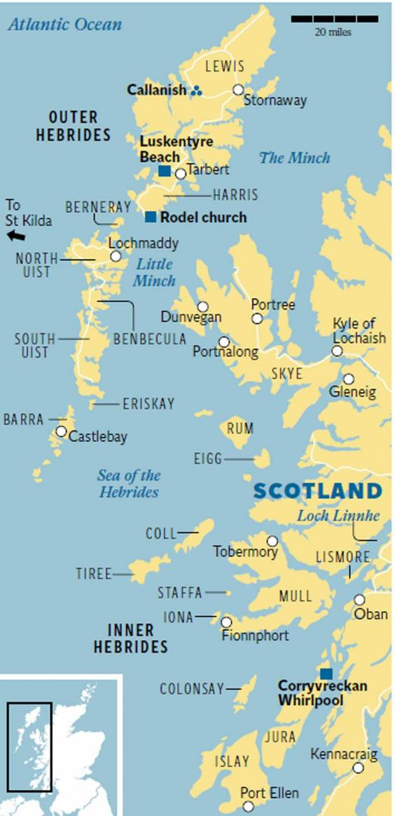 The Hebrides Wildlife whisky and wonderful cuisine  The Independent