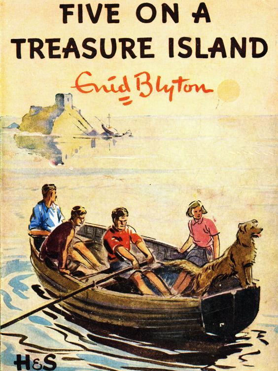 five on treasure island ebook