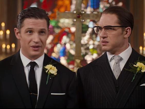 Image result for image of Tom Hardy as the Kray Twins