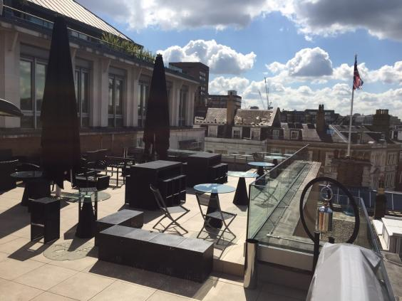 Top 10 Uk Rooftop Bars The Independent