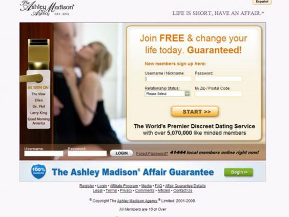 Ashley-Madison-3.jpg. The Ashley Madison website