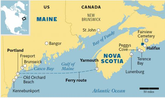 New England and Nova Scotia Explore both destinations on a twin