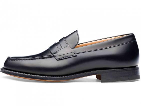 Though it was taken over by Prada in 1999, each pair of Church's shoes,  such as these classic black leather loafers take 8-10 weeks to manufacture  and are ...
