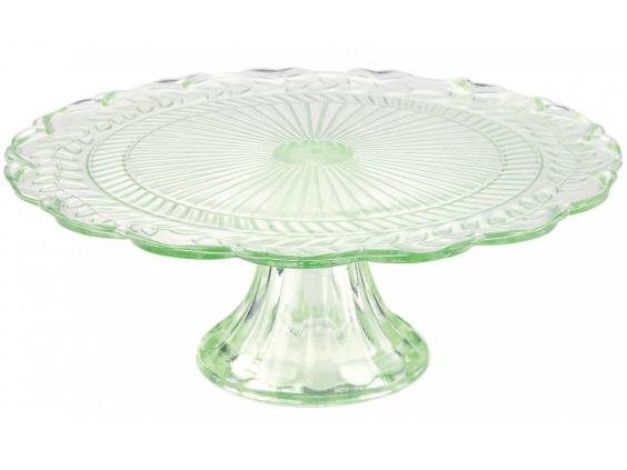This old-fashioned cut glass-style stand is a cheaper alternative to traditional silvered-glass designs. It also comes in blue and pink ...  sc 1 st  The Independent & 10 best cake stands | The Independent