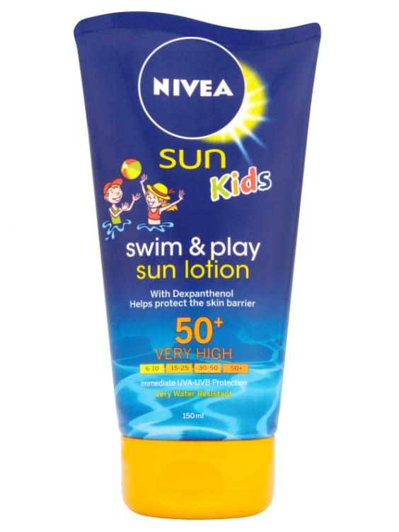 Sun cream kids