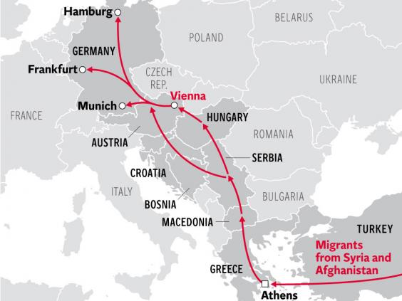 6 Charts And A Map That Show Where Europe S Refugees Are