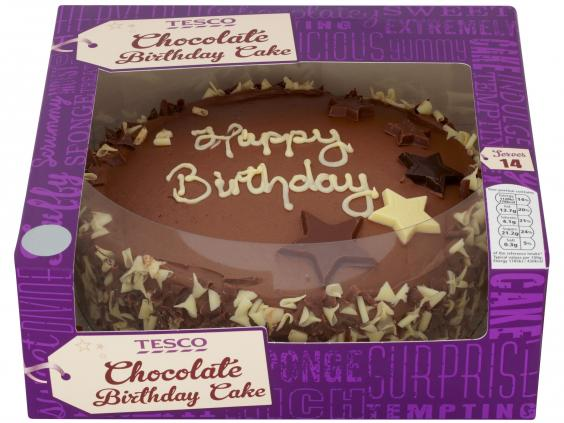 Tesco Birthday Cakes In Store