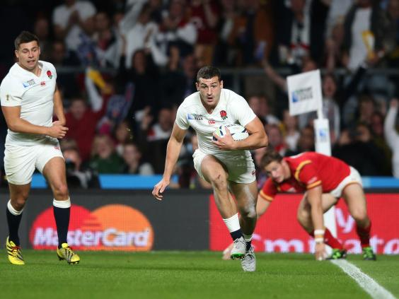England 36-15 Italy by David Nicholson at Twickenham