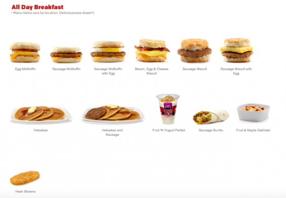 What Drinks Can You Get With Mcdonalds Breakfast