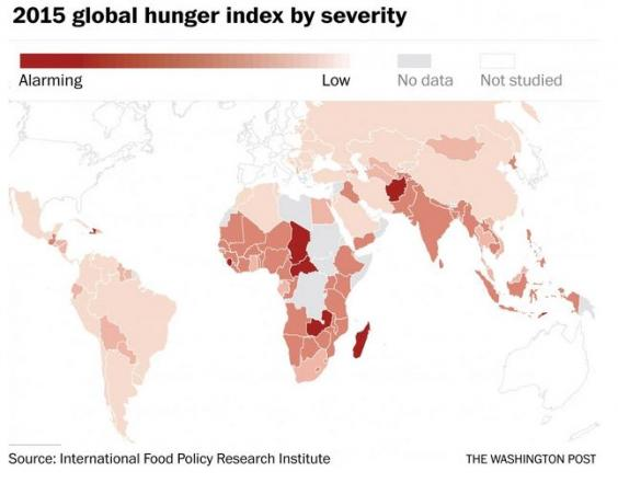 world food distribution and hunger problem The facts & stats on world hunger unequal income distribution in the world and within political, and scientific perspectives on the world food problem.