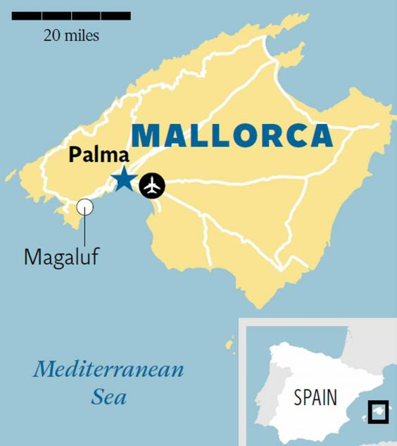 Palma Mallorca A quiet slice of heaven a stones throw from