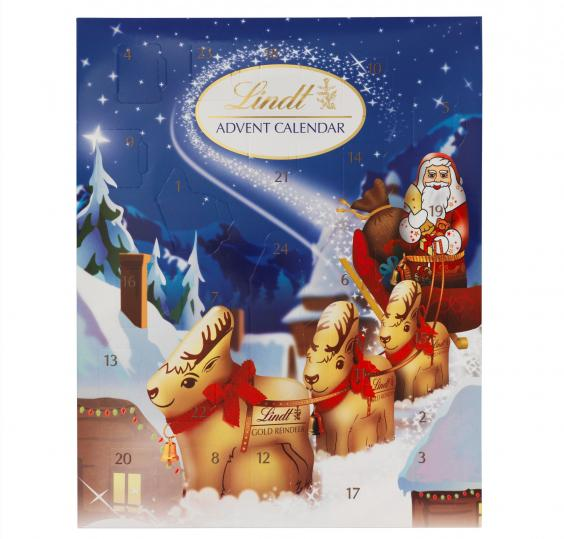lindt advent calendar gallery