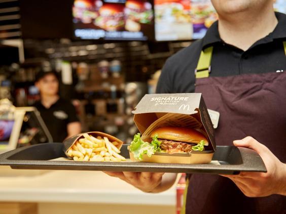 McDonald's launches 'premium' burger range   Food and ...