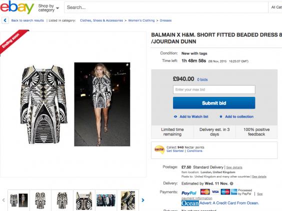 Ebay online clothing stores