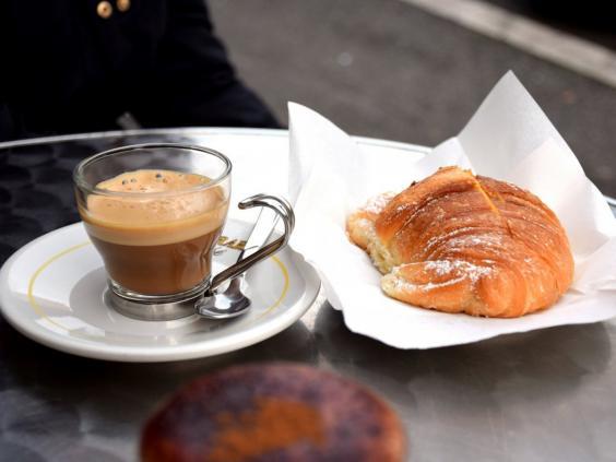 İtalya'da kahvaltı