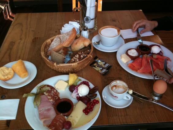 Klasik Alman kahvaltısı