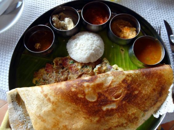 Hindistan'da bölgeden bölgeye kahvaltı sofraları değişiyor