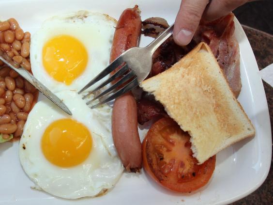 İngiltere kahvaltı tabağı