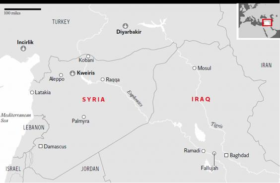 Isis Bombers Bribery And Endless Checkpoints The Deathdefying - Us checkpoints map