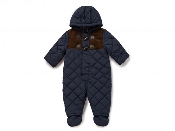 Keep your little one cosy when out and about in winter with a padded toddler snowsuit from Mountain Warehouse. Insulated and fleece lined our all in one snow suits are .
