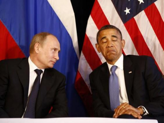 Putin e Obama si incontrano a Los Cabos, Messico, 18 giugno 2012. Credits to:The Independent.