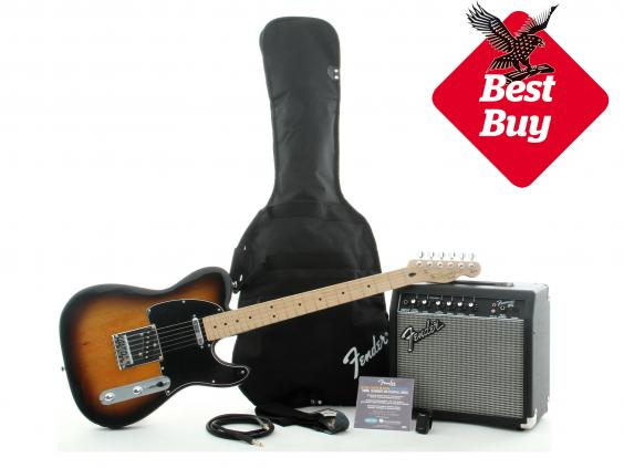 christmas 2015 10 best electric guitars for beginners the independent. Black Bedroom Furniture Sets. Home Design Ideas