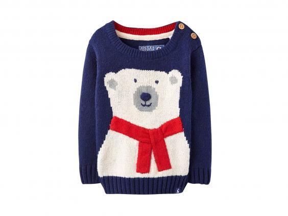 Baby joule polar bear jumper from 163 24 95 john lewis