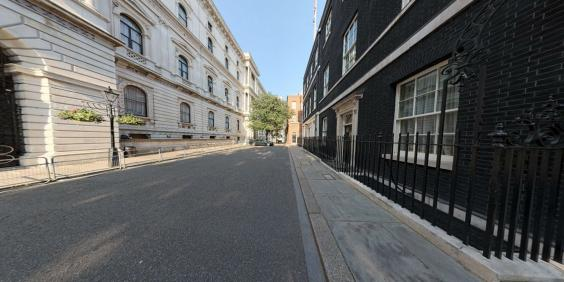 10 downing street take a rare glimpse inside the prime for 10 downing street front door paint