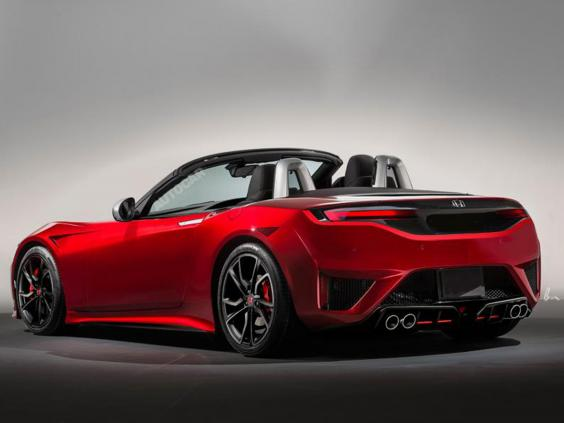 Honda rejoins sports car market with new S2000  The Independent