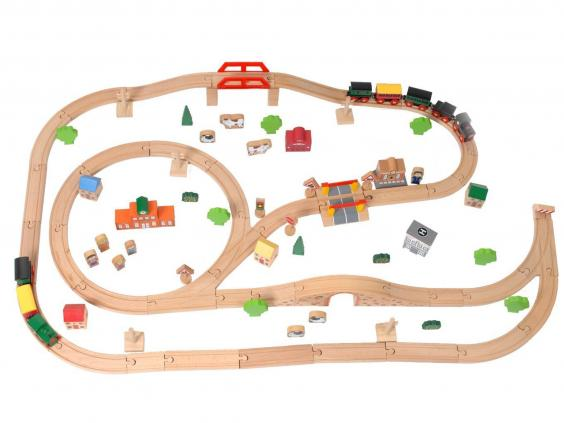 Christmas 2015 10 Best Wooden Train Sets The Independent