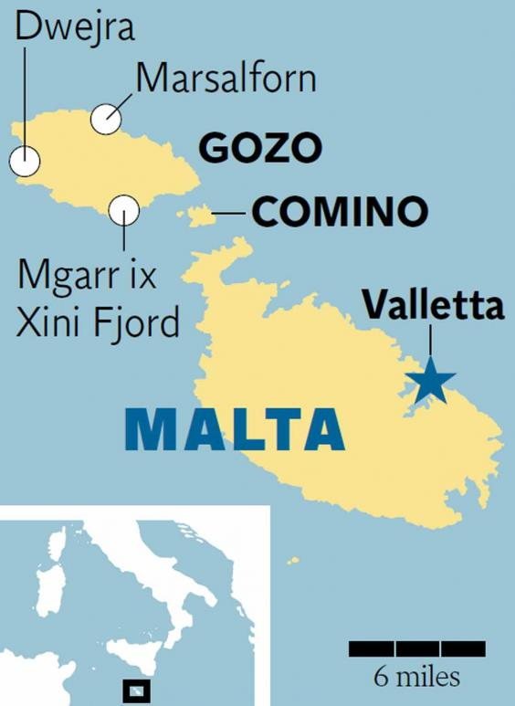 Malta On location by the sea with Angelina Jolie The Independent