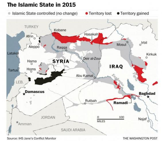 How the war on Isis is redrawing the map of the Middle East The