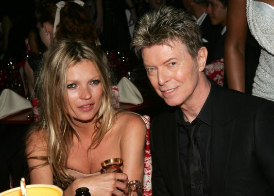 Kate Moss Pays Tribute To David Bowie Through Her Outfit