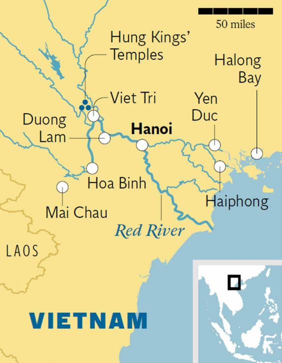 Cruise along Vietnam's Red River Delta | The Independent