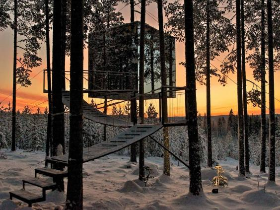 Treehouse Hotels Bed Down Up In The Air From Thailand To