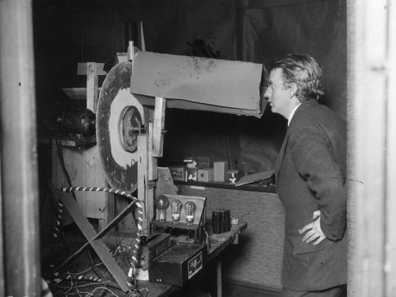 See the first TV image from John Logie Baird's early 'Televisor ...