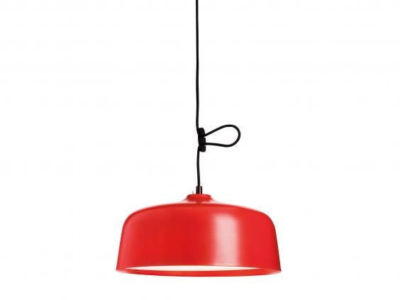 One for the design-conscious SAD sufferer, this pendant light has an output  of 10,000 lux at 23cm or 2,500