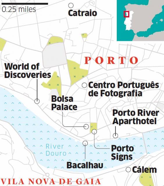 Porto Fine wine and understated charm in Portugals Latin city – Porto Tourist Map