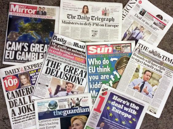 What is more influential: Newspapers or Television?