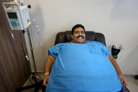 World's fattest man dead: Andres Moreno dies 'after energy ...