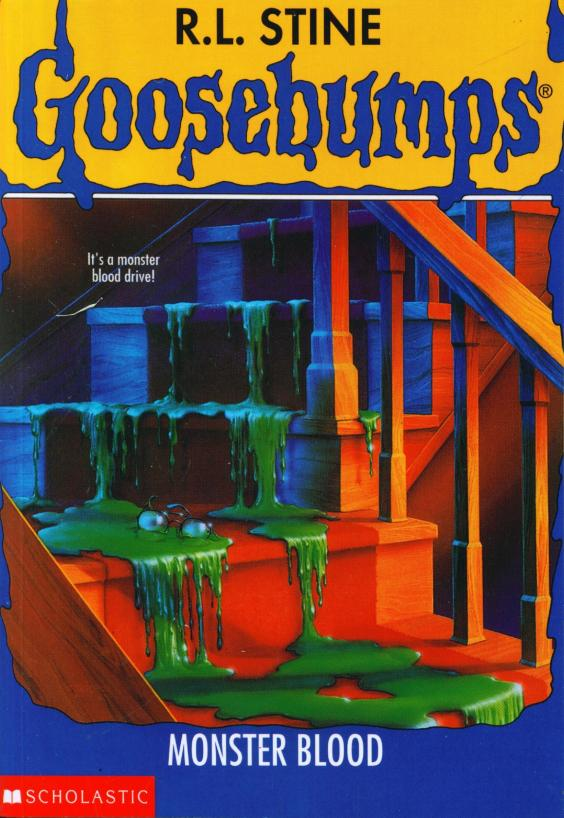 goosebumps monster blood book report Classic goosebumps: welcome to dead house publisher's summary  book 3  classic goosebumps: monster blood audiobook cover art sample.