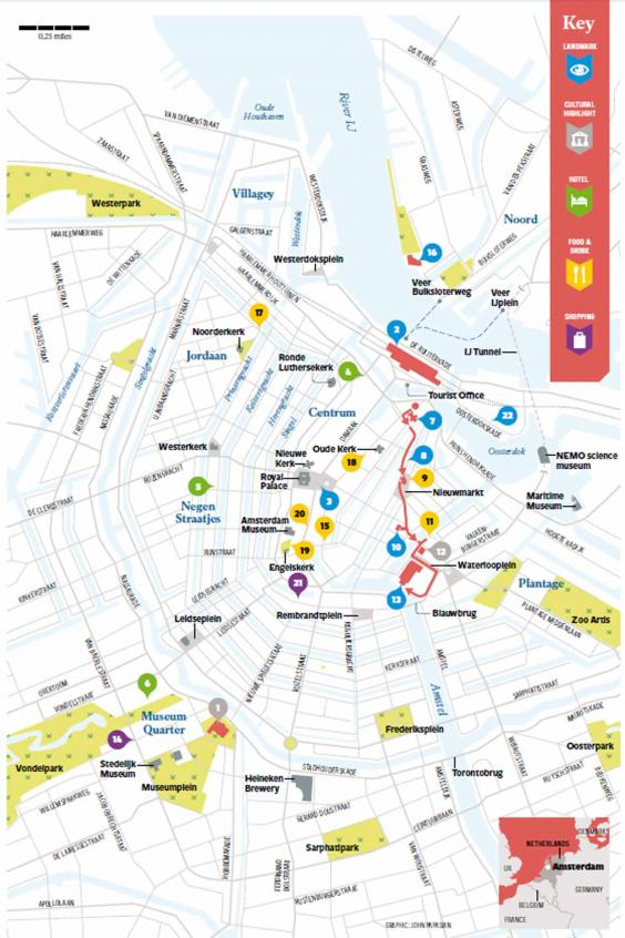 Amsterdam travel tips Where to go and what to see in 48 hours – Amsterdam Travel Map