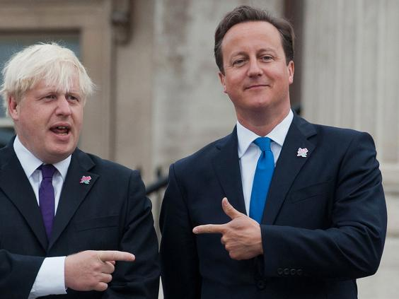 boris johnson and david cameron how a rivalry that began. Black Bedroom Furniture Sets. Home Design Ideas