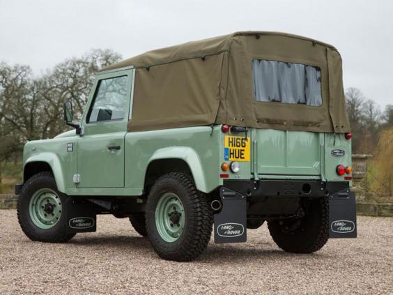 Worksheet. Land Rover Final Defender 90 Heritage signs off 68year