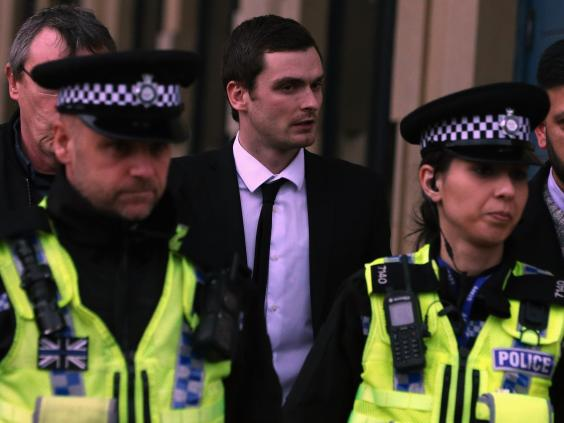 Breaking news reports Adam Johnson loses his appeal