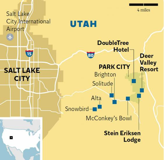 How utah s park city became the biggest ski area in the for Best city to leave in usa