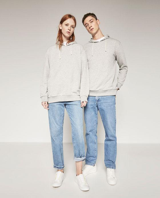 zara joins the gender fluid movement with new unisex